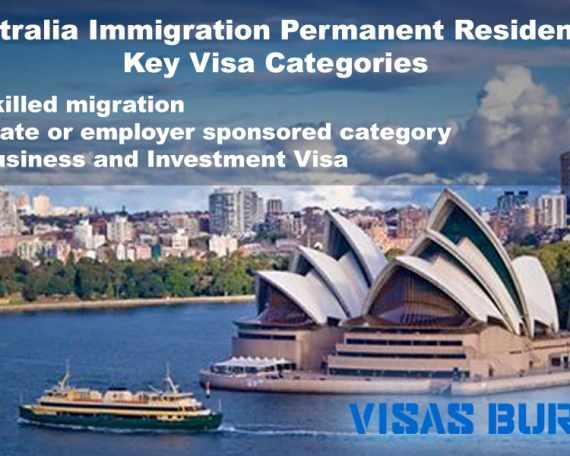 Australia Immigration Permanent Residency-Key Visa Categories